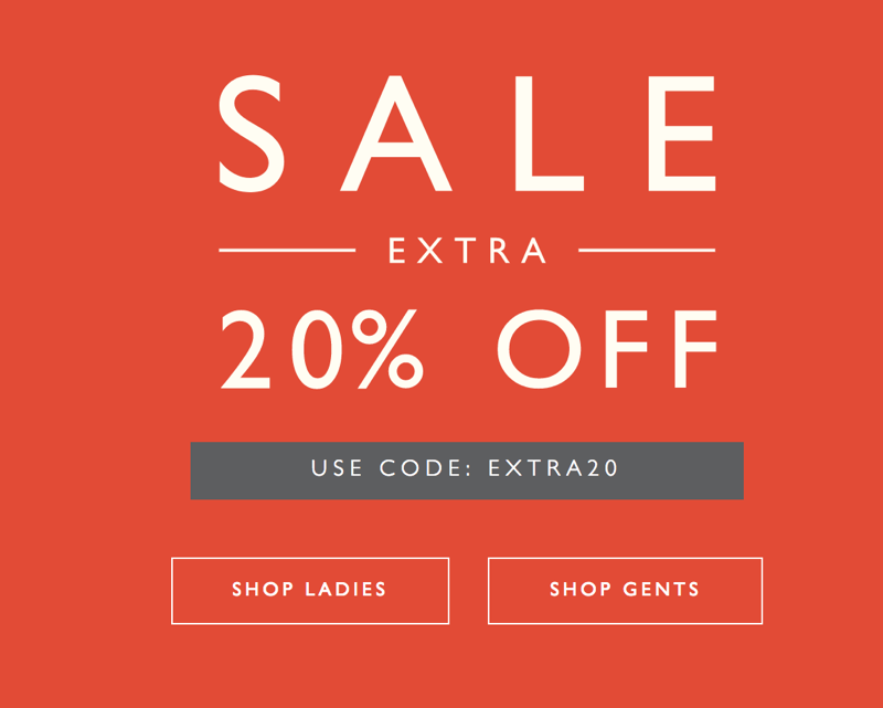 Jack Wills Jack Wills: Sale extra 20% off ladies and gents clothing