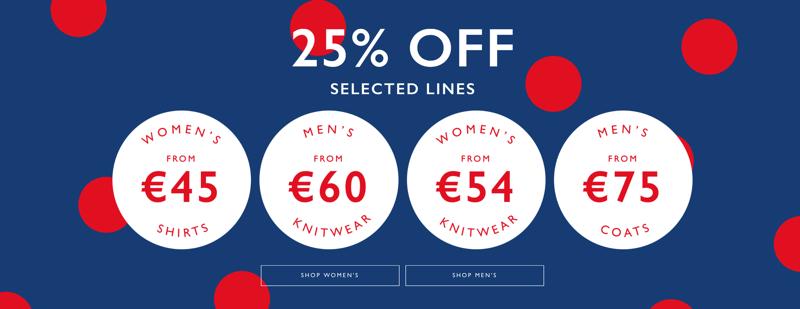 Jacamo: 25% off selected women's and men's lines