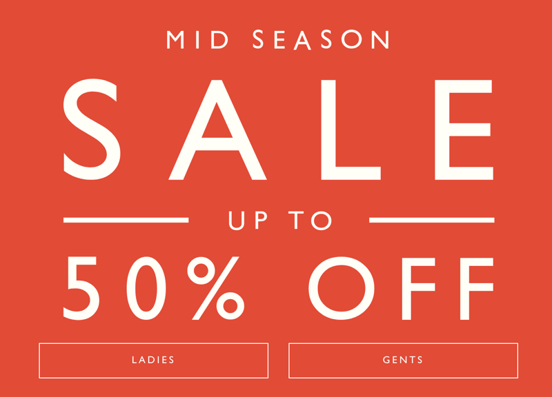 Jack Wills Jack Wills: Mid Season Sale up to 50% off ladies and gents fashion