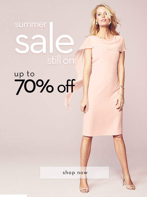 Jacques Vert: Sale up to 70% off occasion wear, formal wear and evening wear