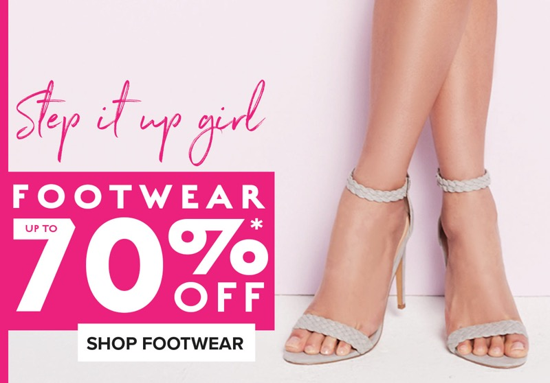 Jane Norman: up to 70% off footwear