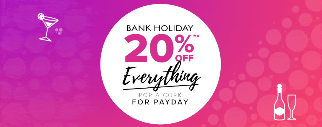 Jane Norman: Bank Holiday Promotion 20% off clothing, shoes and accessories