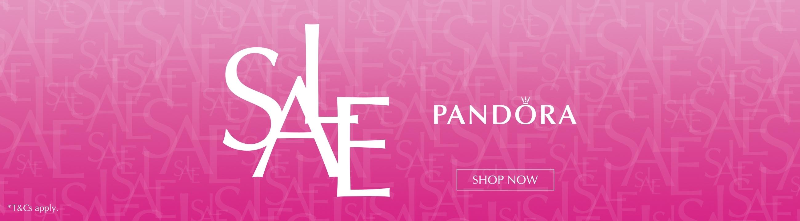 John Greed Jewellery: Sale up to 60% off Pandora jewellery