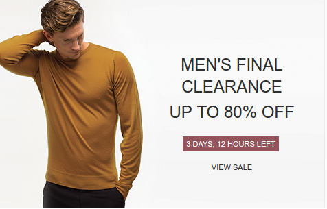 John Smedley Outlet John Smedley Outlet: Sale up to 80% off menswear