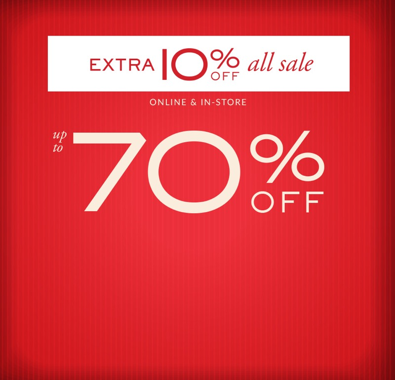 Jones Bootmaker: extra 10% off all ladies and mens shoes sale