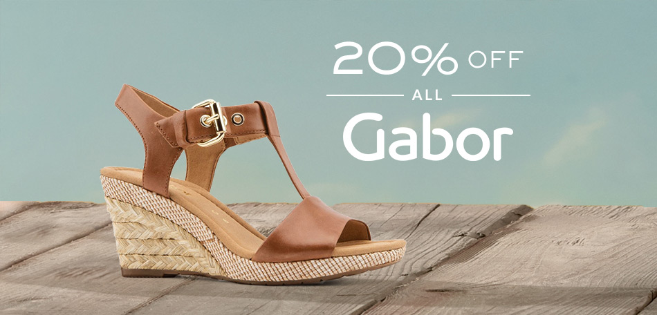 Jones Bootmaker: 20% off all Gabor shoes