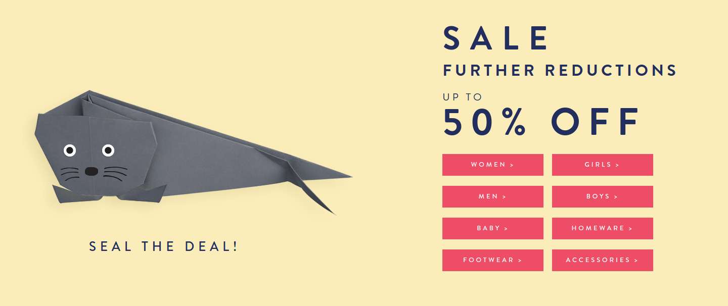 Joules Joules: Sale up to 50% off women's, men's, children's clothing and footwear