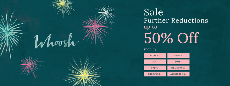 Joules Joules: Sale up to 50% off women's, men's and children's clothing and footwear