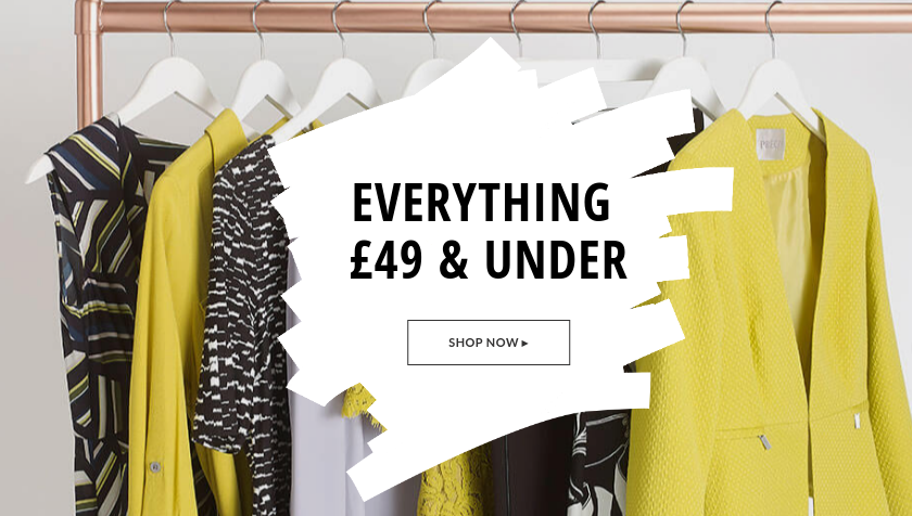 Just Last Season: everything £49 and under on clothing and accessories from special category