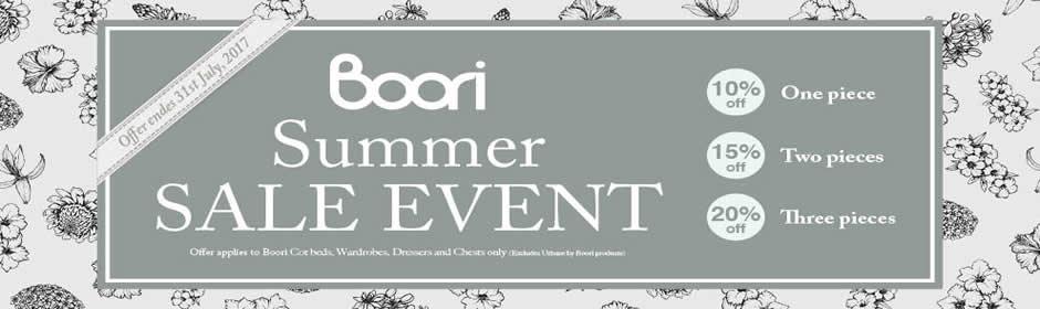 Kiddies Kingdom: Summer Sale on Boori products