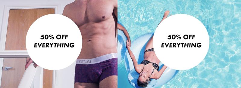 Kiniki: 50% off designer underwear
