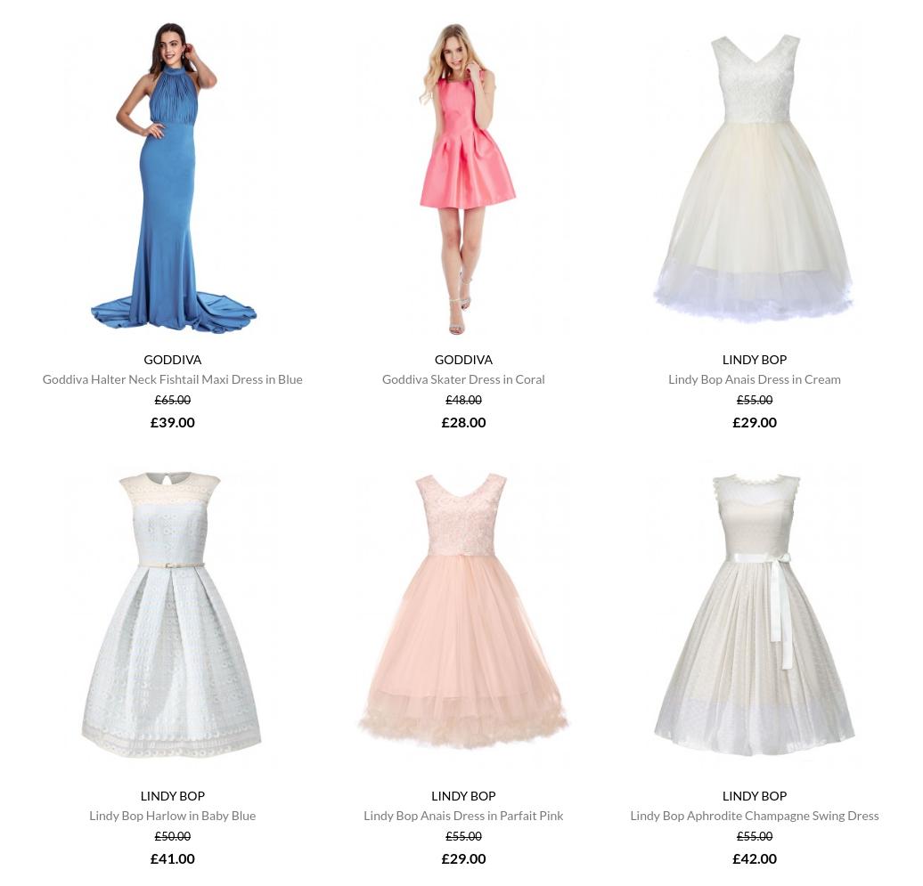 Little Black Dress: sale up to 70% off dresses