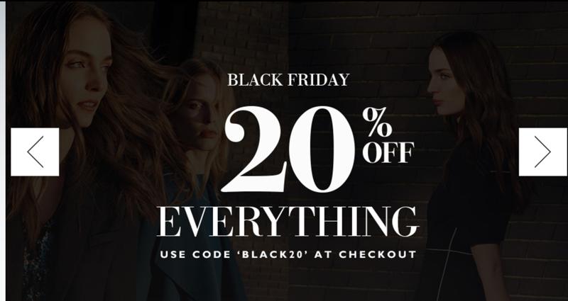 Black Friday L.K. Bennett: 20% off everything