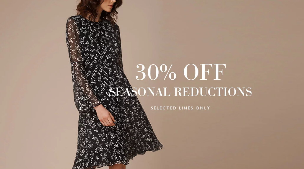 L.K.Bennett: 30% off selected shoes, clothing, bags and accessories
