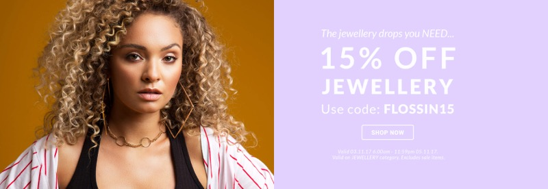 Lamoda: 15% off jewellery