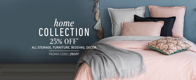 la redoute 25 off home collection. Black Bedroom Furniture Sets. Home Design Ideas