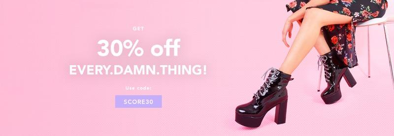 Lamoda: 30% off women's fashion