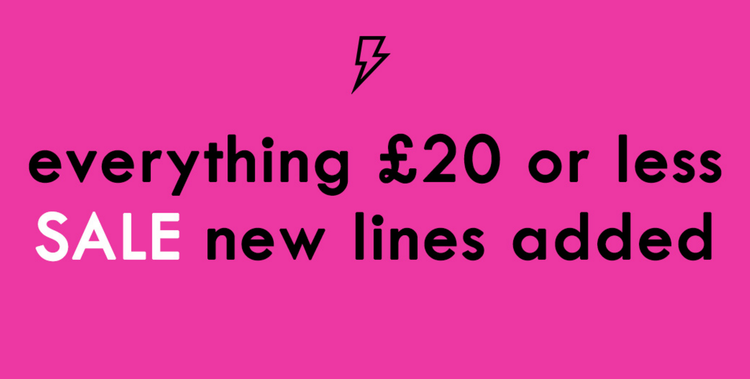Lasula: Sale everything £20 or less off clothing, dresses, shoes and accessories