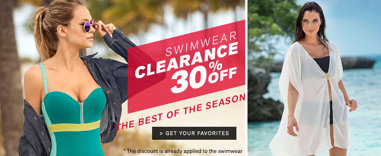 Leonisa Leonisa: Clearance 30% off womens swimwear