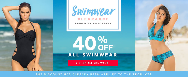Leonisa Leonisa: Sale 40% off all swimwear