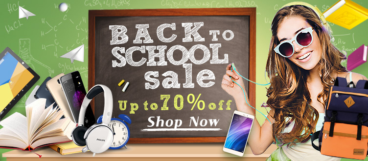 Light in the Box Light in the Box: Sale up to 70% off back to school products