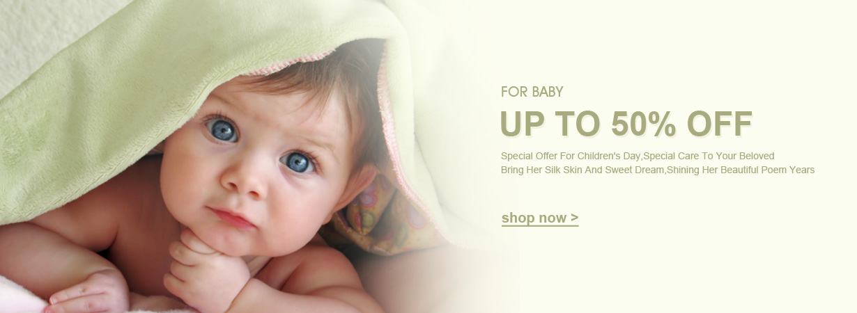 LilySilk: up to 50% off silk products for baby