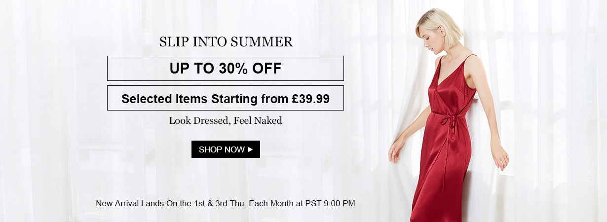 LilySilk Lily Silk: up to 30% off selected items starting from £39.99