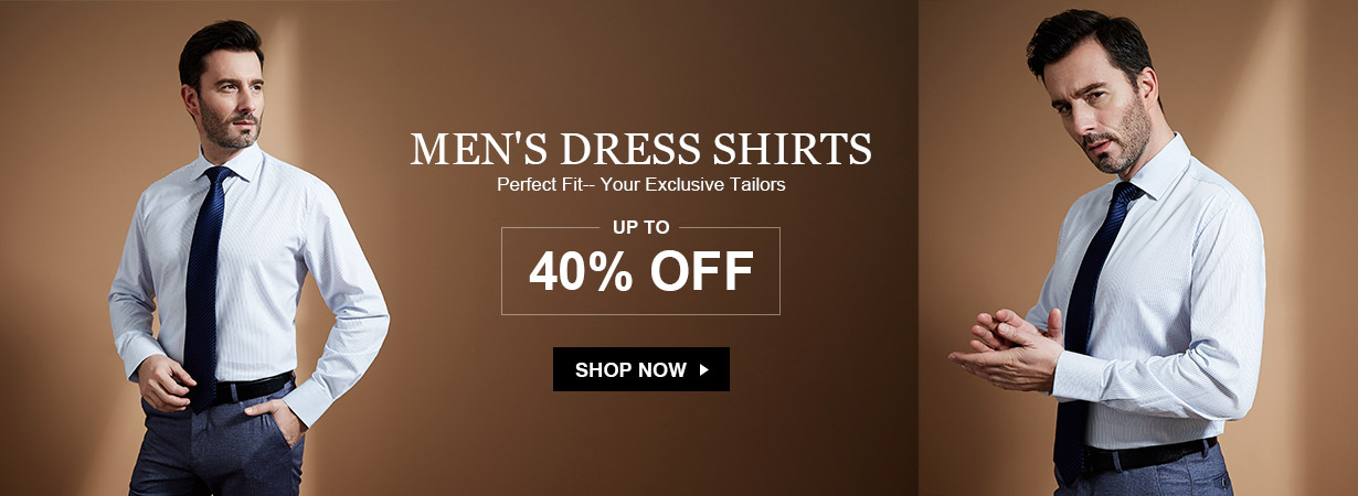 LilySilk Lily Silk: up to 40% off men's dress shirts