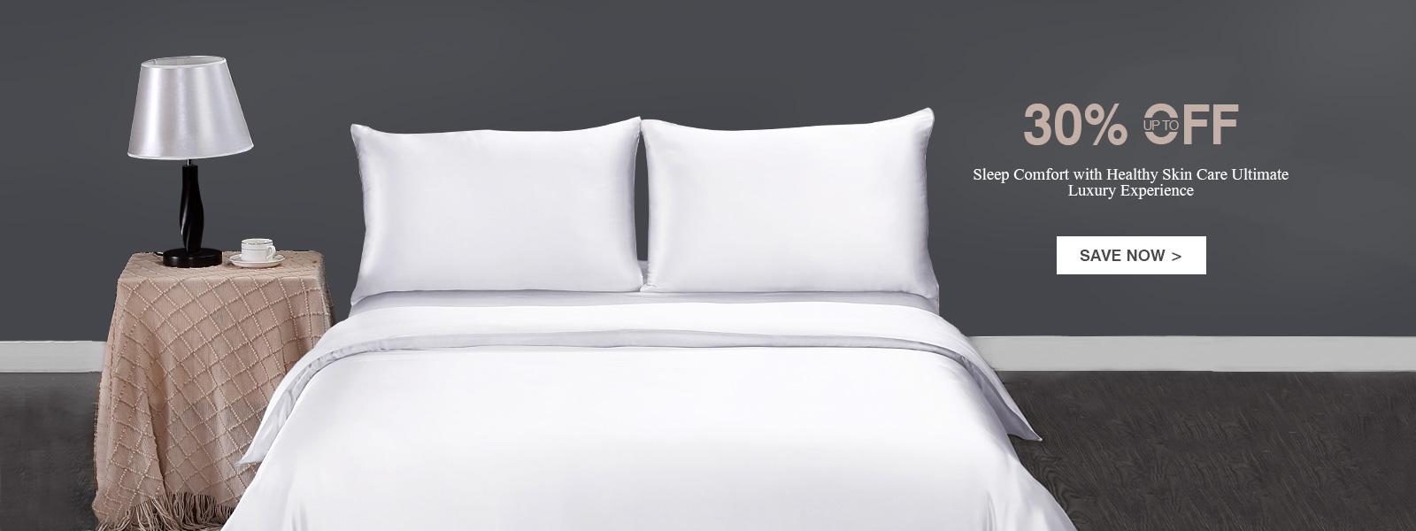 LilySilk LilySilk: up to 30% off silk bed linen sets