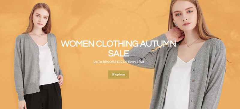 LilySilk LilySilk: Sale up to 55% off women clothing