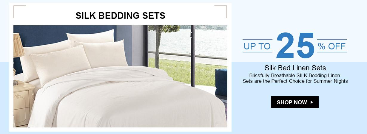 LilySilk LilySilk: up to 25% off silk bedding sets
