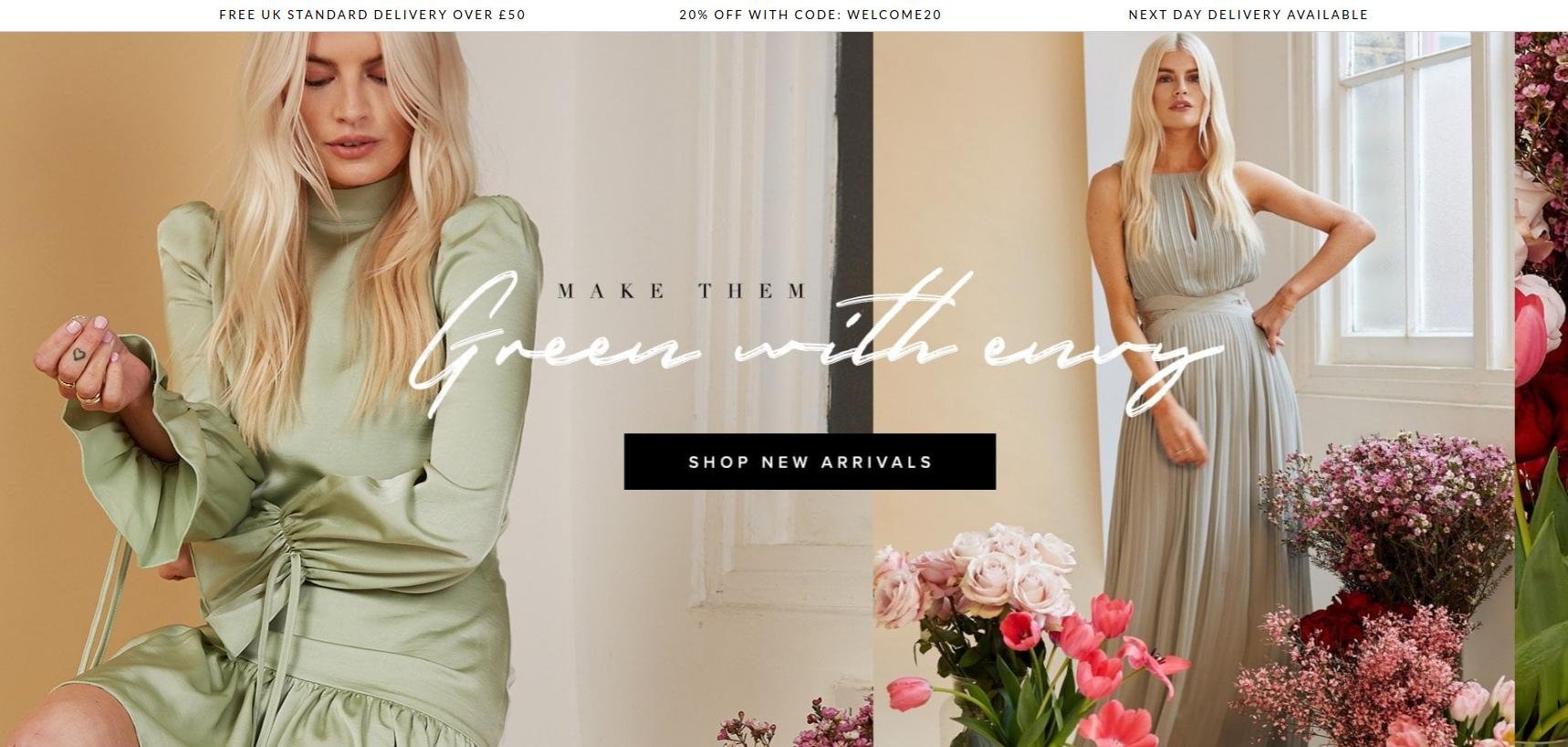 Little Mistress: 20% off women's dresses and clothing
