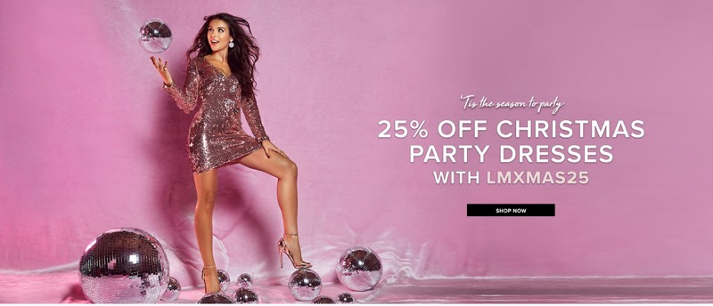 Little Mistress: 25% off Christmas party dresses