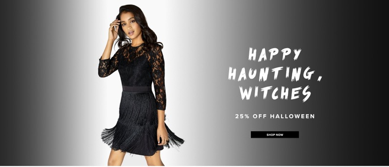 Little Mistress Little Mistress: 25% off Halloween outfits & costumes