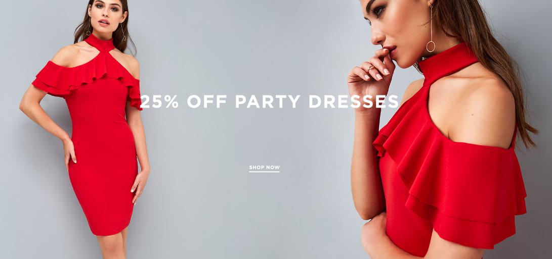 Little Mistress: 25% off party dresses