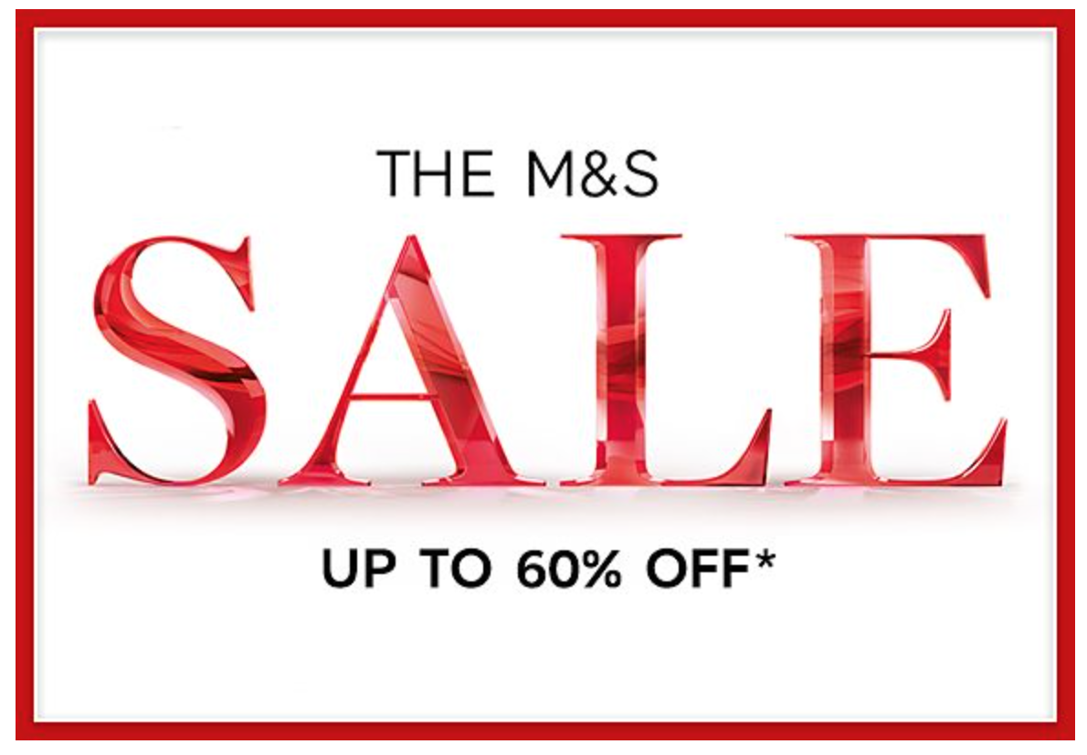 Marks&Spencer: sale up to 60% off