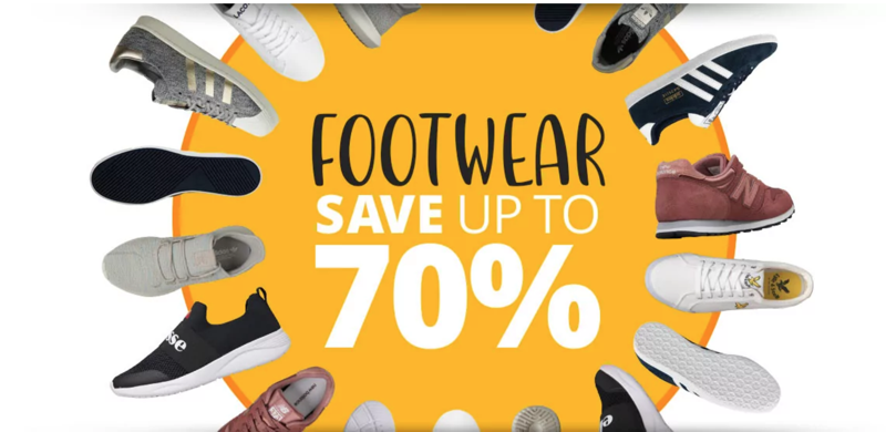 MandM Direct: up to 70% off footwear