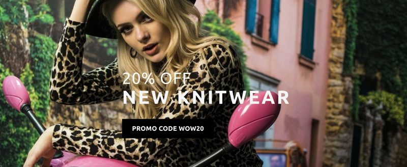 Madam Rage: 20% off new knitwear