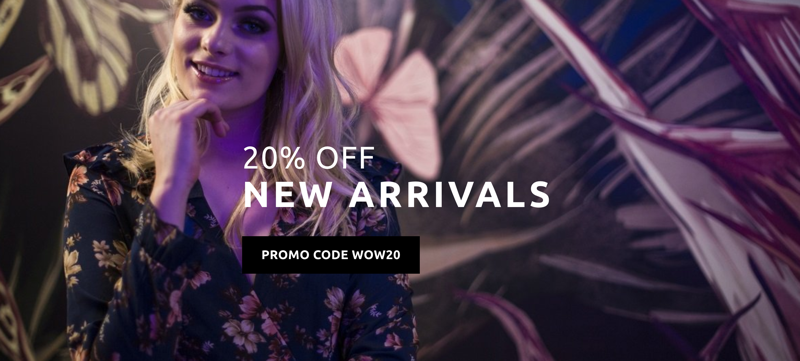 Madam Rage: 20% off new arrivals