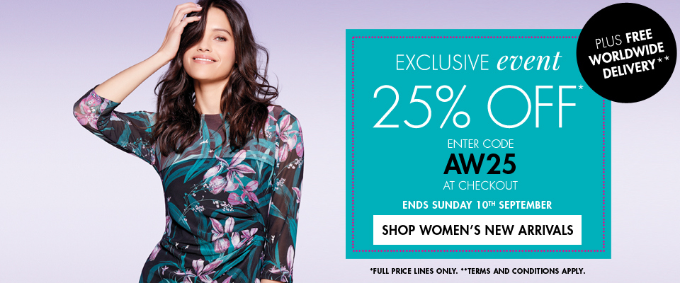 M&Co M&Co: 25% off new womens clothing