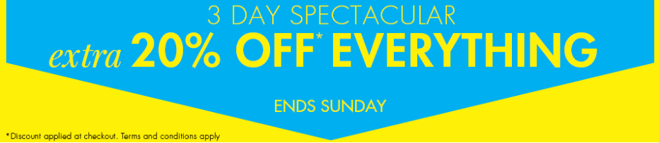 M&Co M&Co: extra 20% off everything