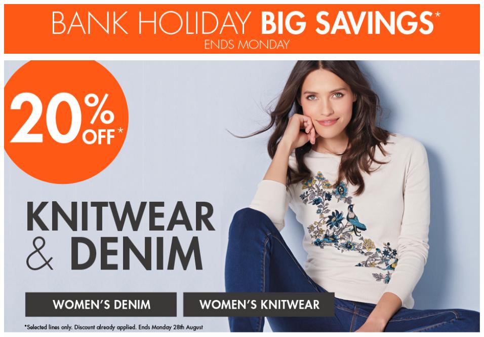 M&Co: Bank Holiday Big Savings