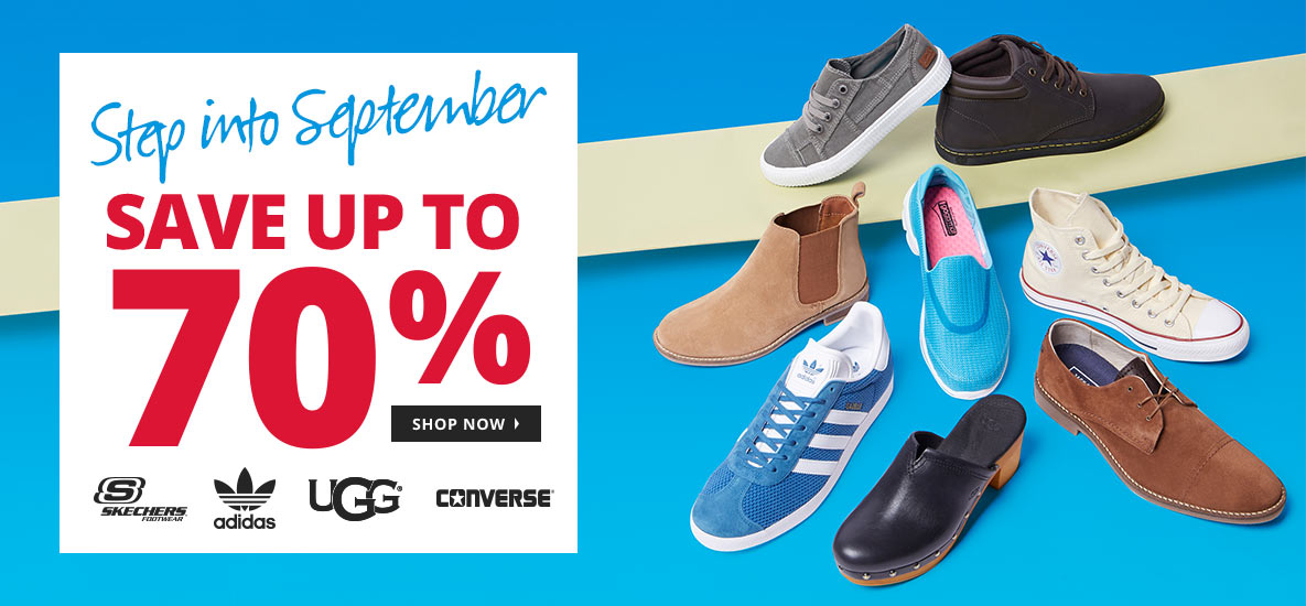 e59bb4812d1 MandM Direct: Sale up to 70% off shoes like Skechers, adidas, UGG ...