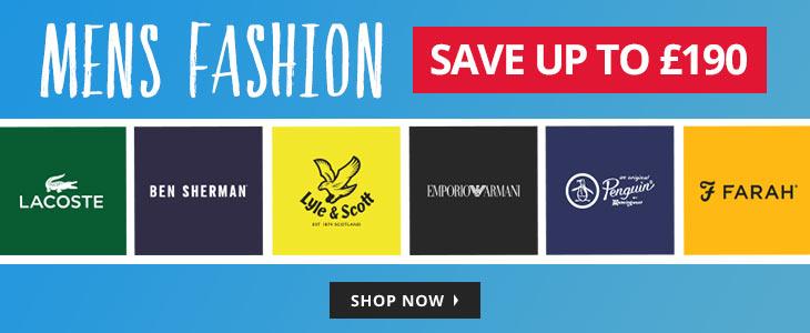 MandM Direct MandM Direct: Sale up to £190 off mens fashion