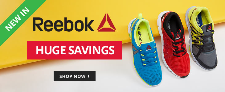 MandM Direct MandM Direct: Sale up to 90% off Reebok performance clothing and trainers
