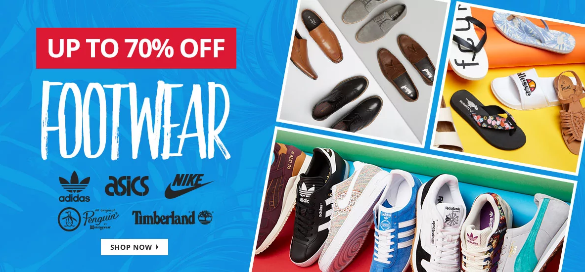 MandM Direct MandM Direct: Sale up to 70% off footwear from Adidas, Asics, Nike, Penguin, Timberland and more