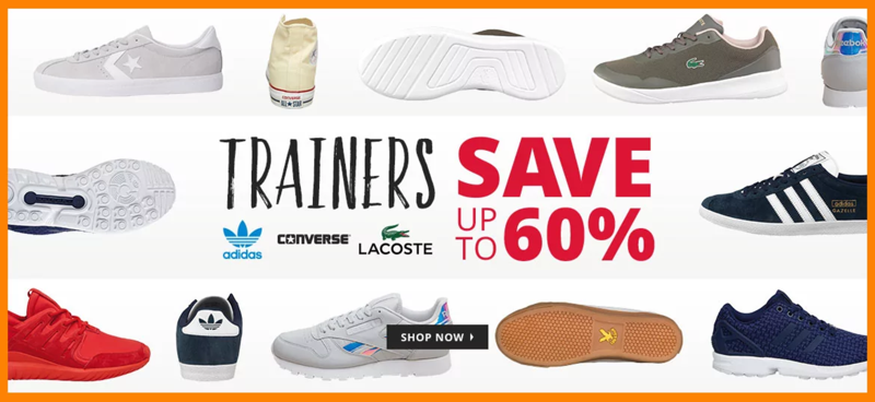 MandM Direct MandM Direct: up to 60% off trainers