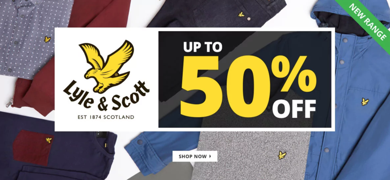 MandM Direct MandM Direct: up to 50% off Lyle and Scott mens fashion