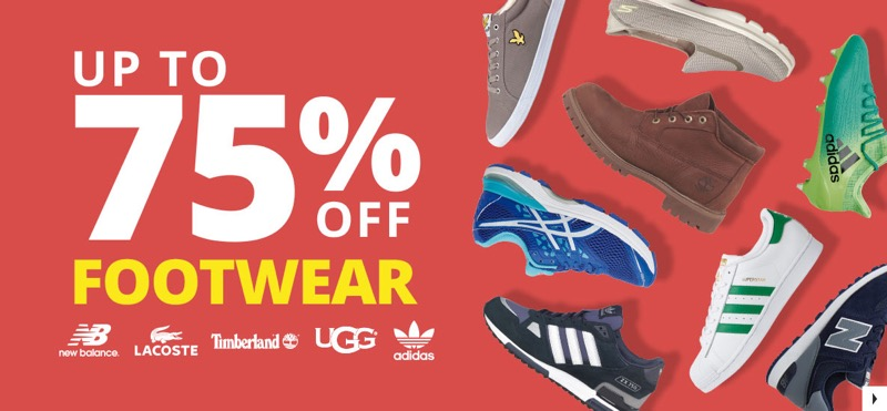 MandM Direct: Sale up to 75% off footwear