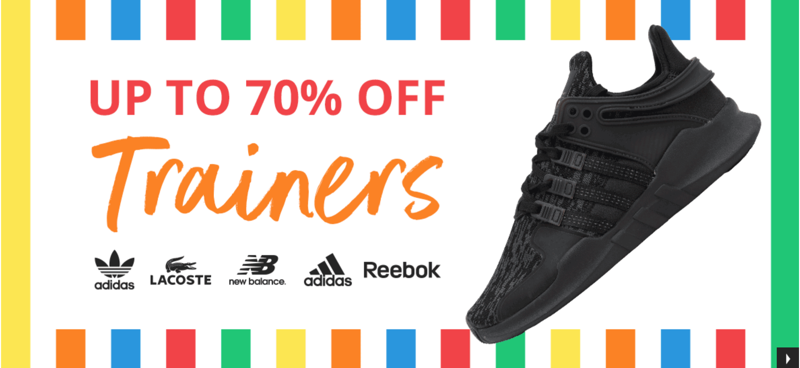 MandM Direct MandM Direct: up to 70% off trainers